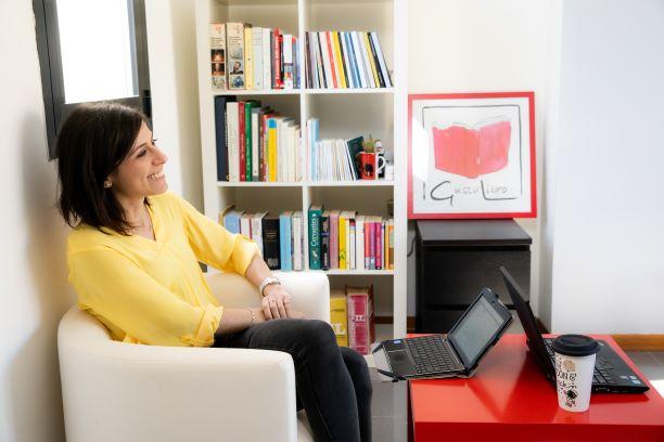 Sara Meglioli, capo redattrice della casa editrice, editor, responsabile comunicazione